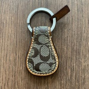 Coach Signature C Key Chain